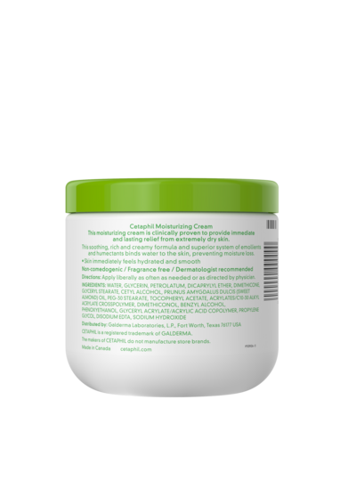 Cetaphil Moisturizing Cream - BACK